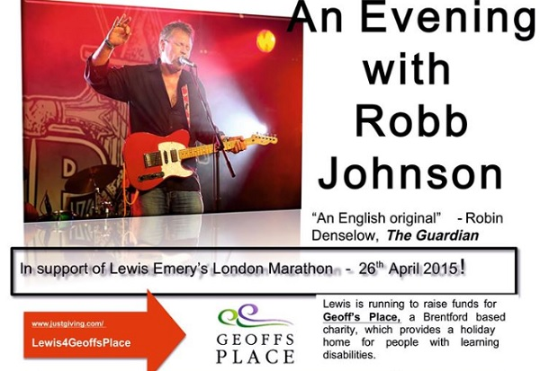 An Evening with Robb Johnson
