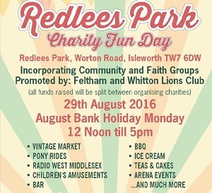 Redlees Park Charity Fun Day
