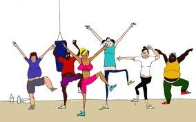 Aerobics Fitness Session