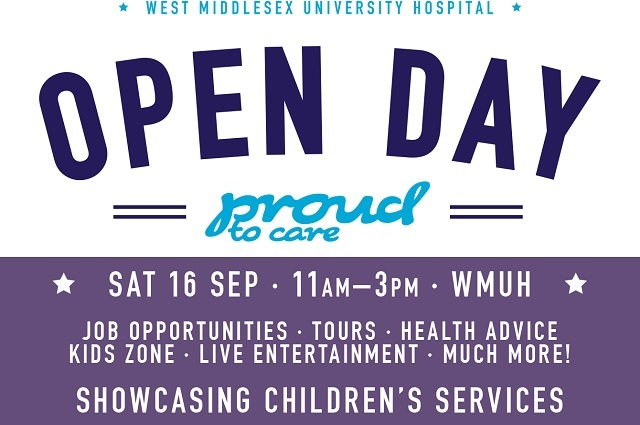 Open Day West Middlesex University Hospital