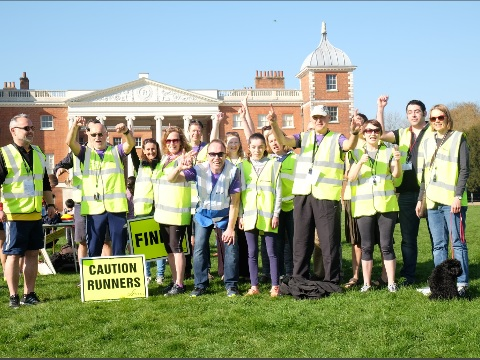 Osterley Park runners