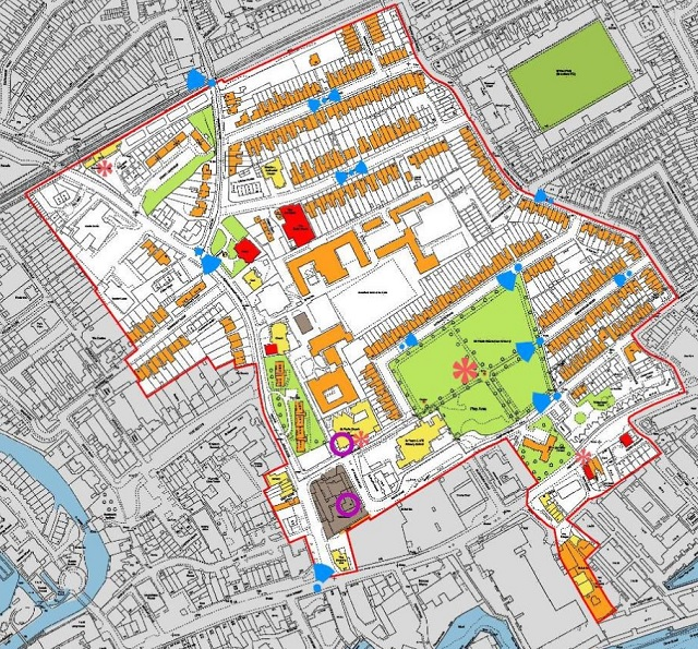 St Paul's Map