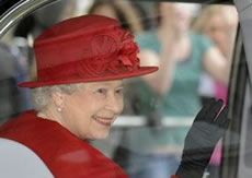queen visits brentford